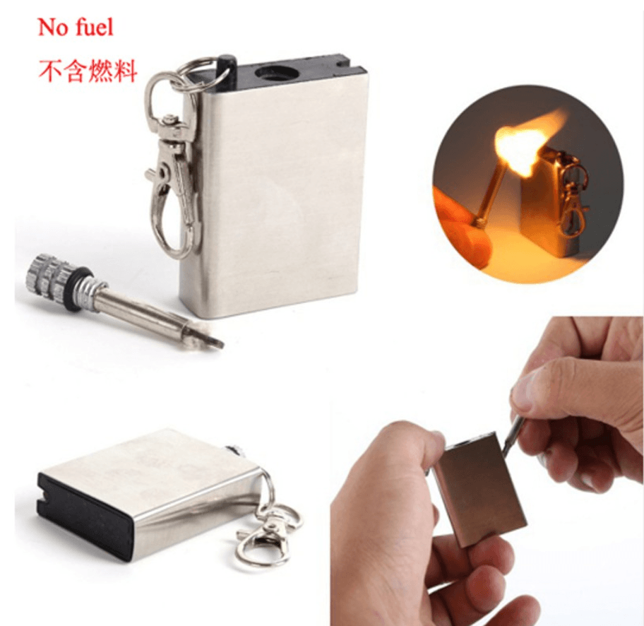 防水型不繡鋼外殼萬用火柴/金屬火柴/打火機