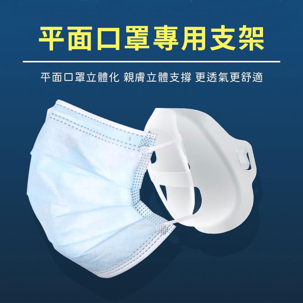 升級可水洗透氣口罩支架 2