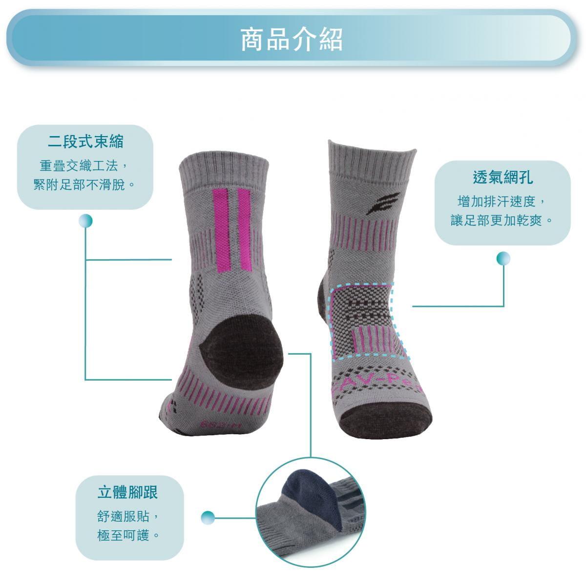 【FAV】止滑加厚保暖登山襪 2