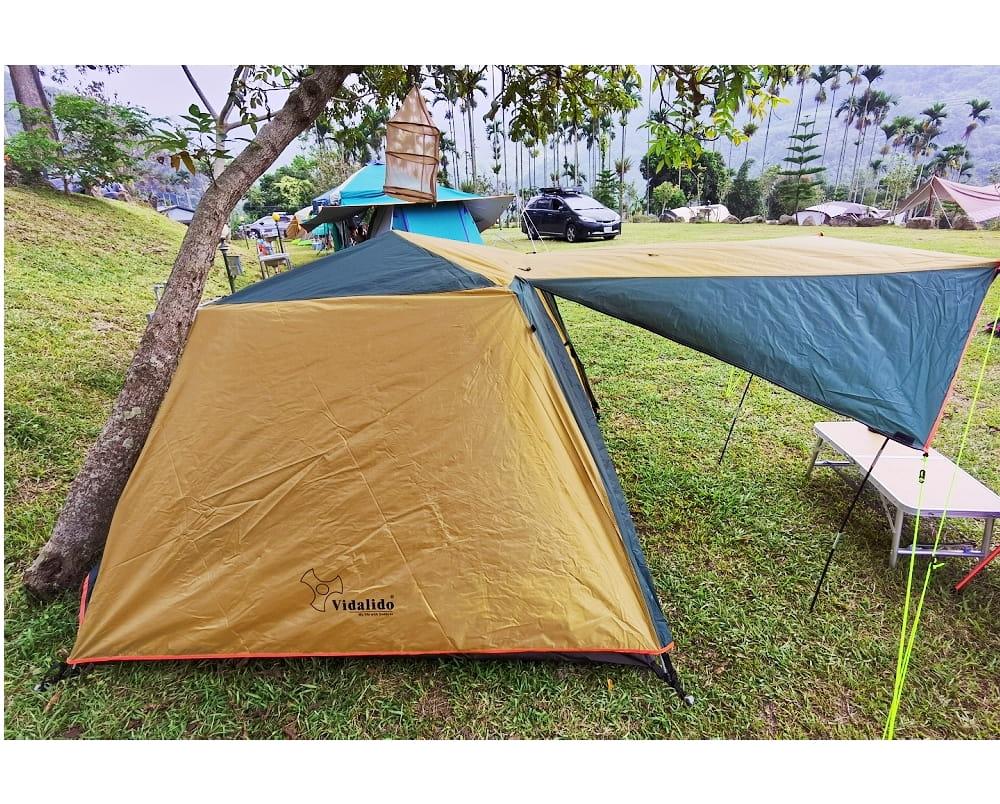 駝綠色自動速開家庭3-4人帳篷 防暴雨抗紫外線沙灘釣魚帳篷 1