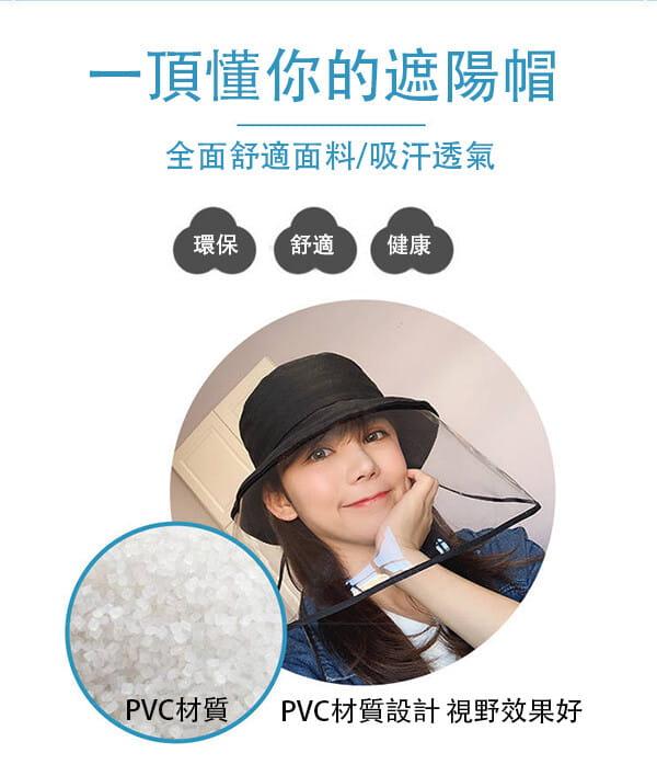 【台灣現貨】防護帽 防飛沫帽 透明面罩  飛沫阻擋 防護面罩  隔離唾沫 防疫用品 11