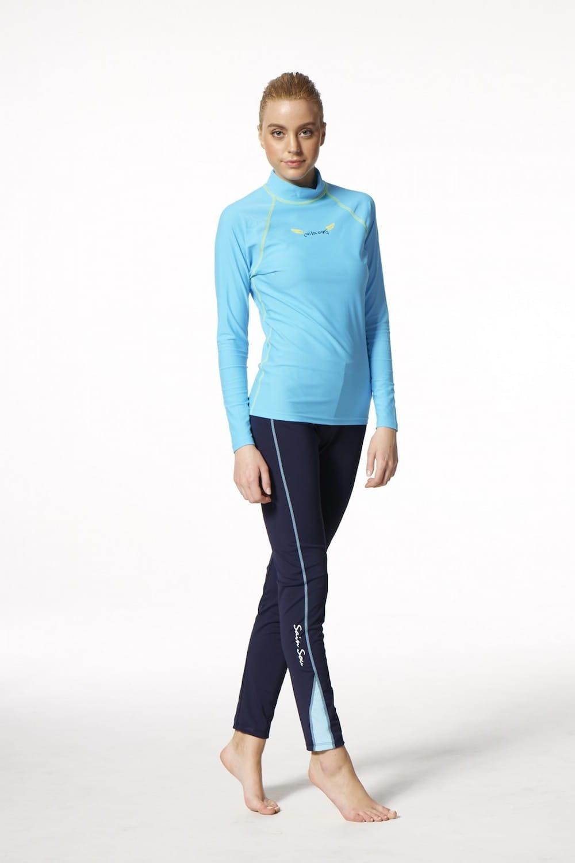 【莫妮娜】MIT 運動機能褲(水陸兩用) 水母褲 2