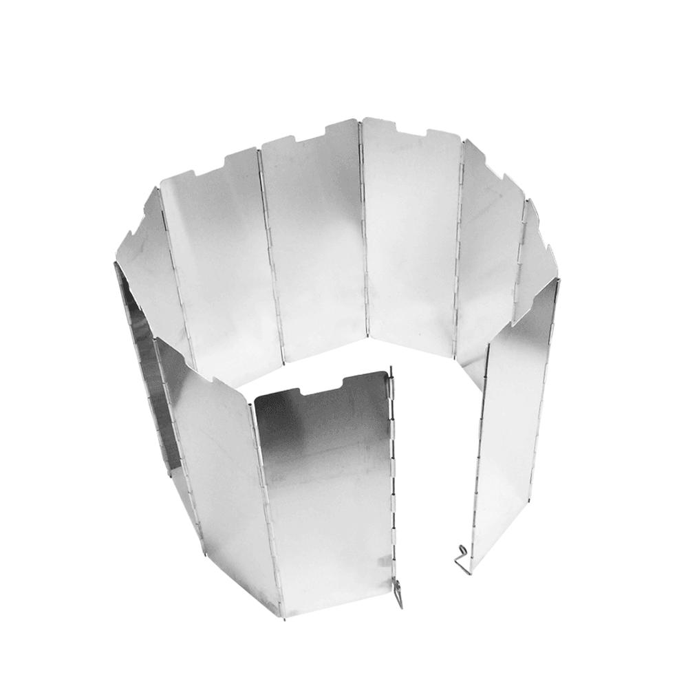露營野炊 摺疊爐火擋風板-10片 5