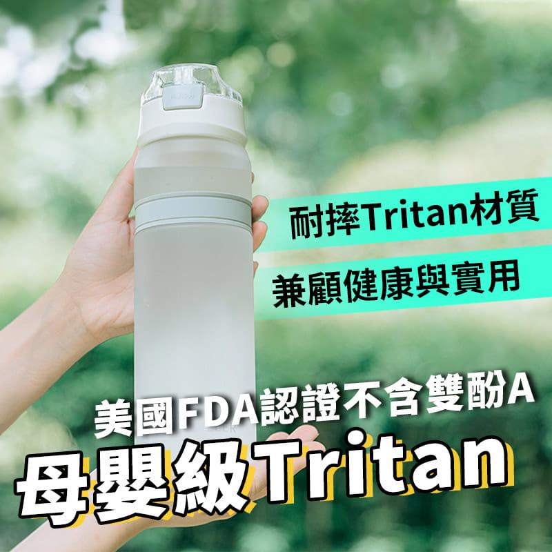 進口Tritan材質運動吸管水壺 5