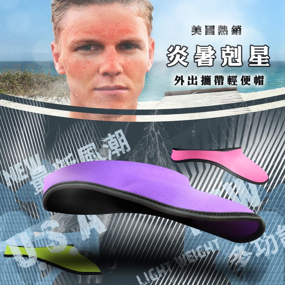【MACMUS】抗UV防曬遮陽帽|男女款 3