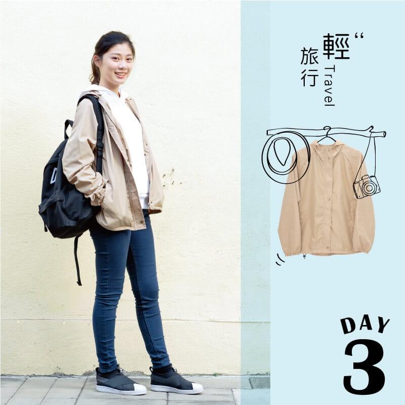 【Peilou】防風防潑水輕量連帽外套(男/女款) 4