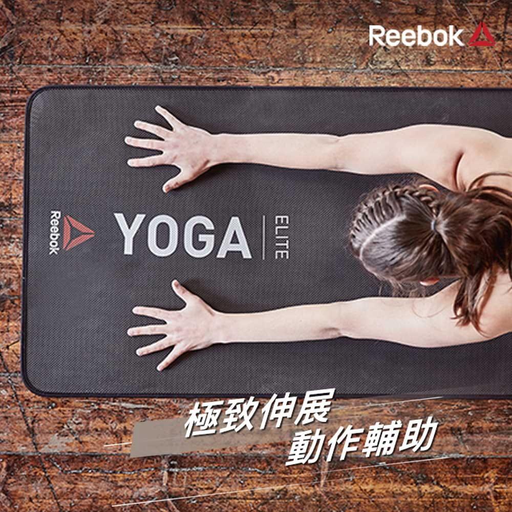 【Reebok】編織棉質瑜珈伸展帶-1.75m 1