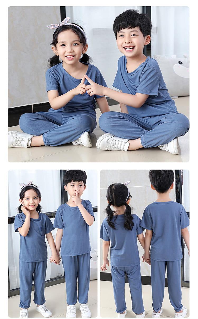 【JAR嚴選】兒童冰絲防蚊休閒兩件套套裝 9