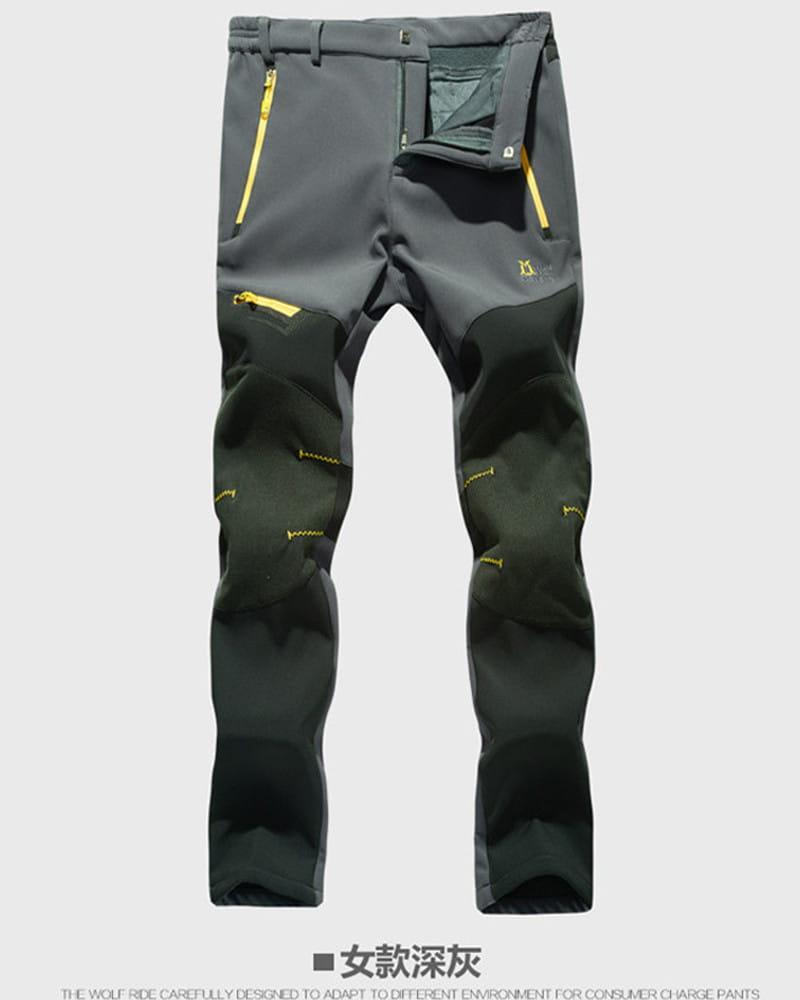 【加絨加厚】拼色防風防水衝鋒褲 戶外機能工作褲【CP16007】 15