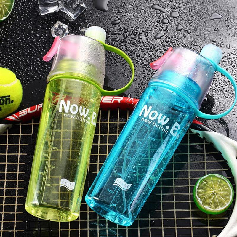 運動噴霧水壺 降溫神器 噴噴水瓶 隨行水杯 輕量冷水壺