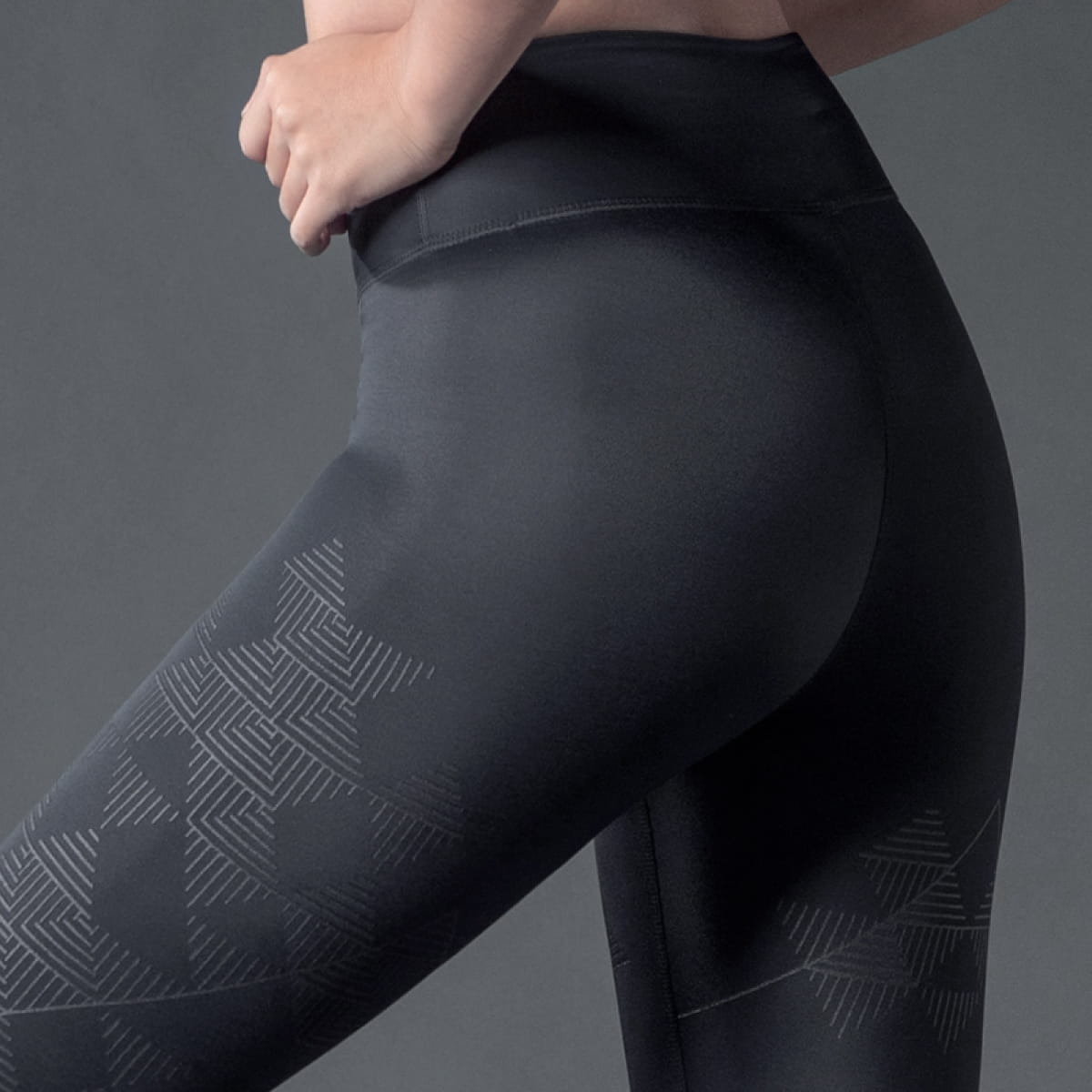 TENO超彈感美型健身褲-Mountain山稜 15