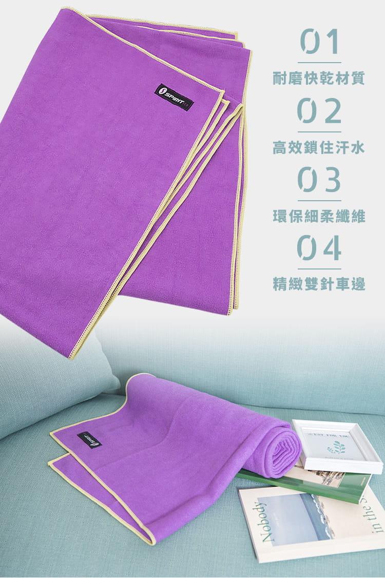 【Outrange】健身瑜珈組(瑜珈墊5mm+瑜珈防滑鋪巾) 8