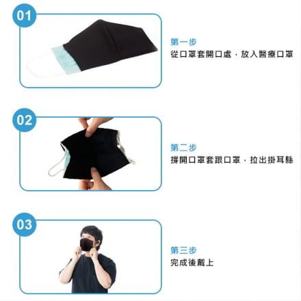【MIT】吸濕排汗口罩套(3入組) 2