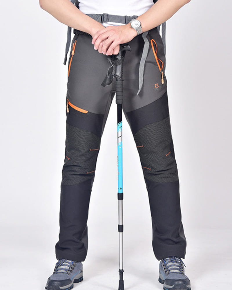 【加絨加厚】拼色防風防水衝鋒褲 戶外機能工作褲【CP16007】 11