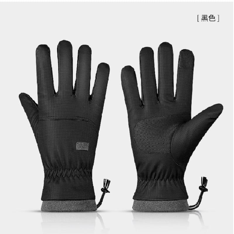 秋冬騎行防風防水加絨保暖手套 12