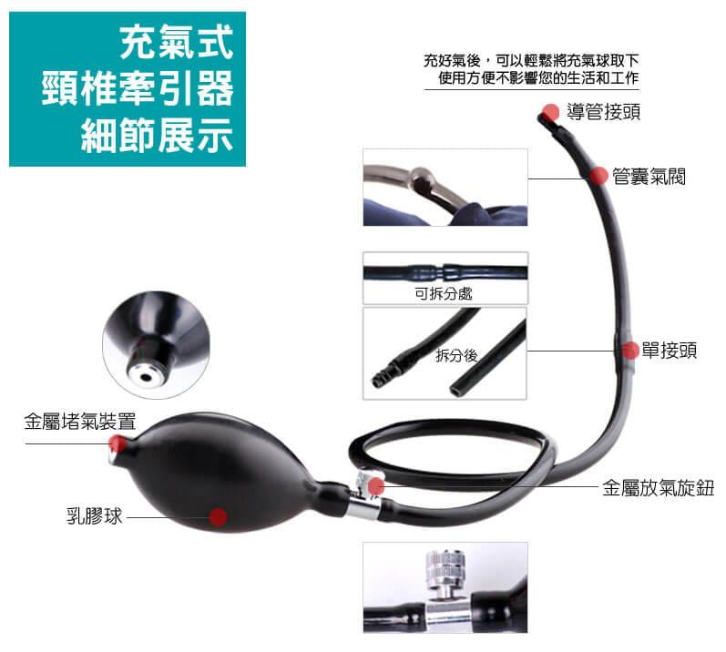 【居家醫療護具】【THC】充氣式頸椎牽引器頸圈 5