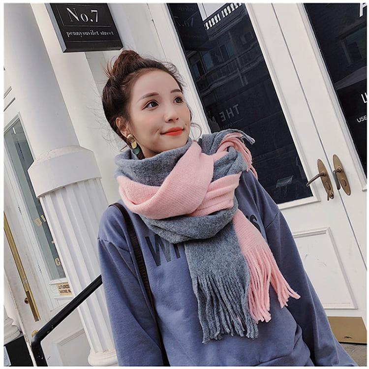【JAR嚴選】時尚秋冬必備韓版情侶款保暖圍巾 4