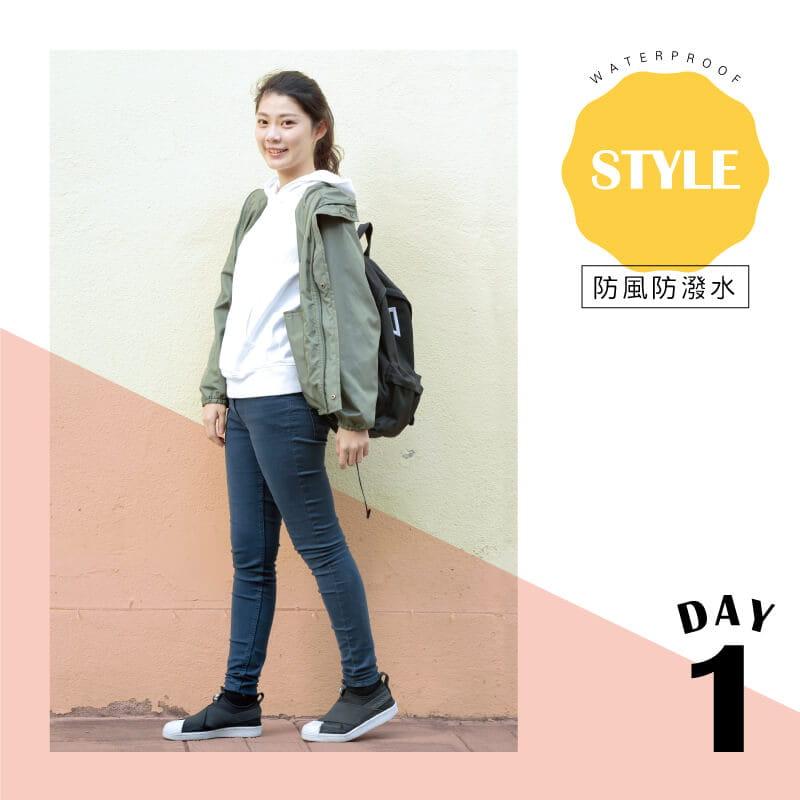 【Peilou】防風防潑水輕量連帽外套(男/女款) 2