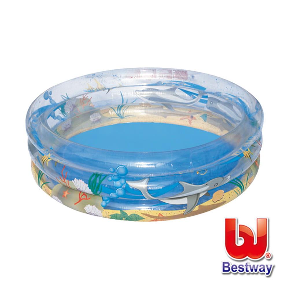 海洋生物充氣泳池