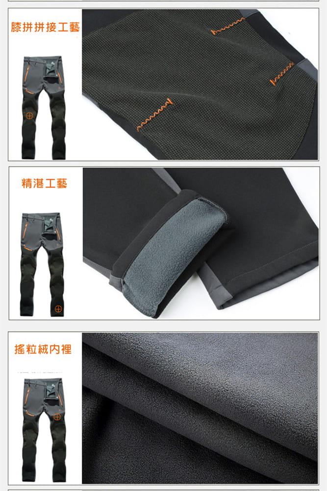 【加絨加厚】拼色防風防水衝鋒褲 戶外機能工作褲【CP16007】 18