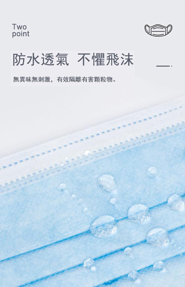 【現貨】美國FDA歐盟CE雙認證三層熔噴布口罩(非醫療) 50入/包 5