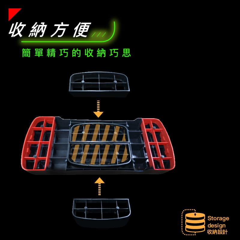 【台灣橋堡】【階梯踏板】防疫大作戰 台灣製造 二階段 高強度 有氧 運動階梯 韻律踏板 好收納 拉筋 2