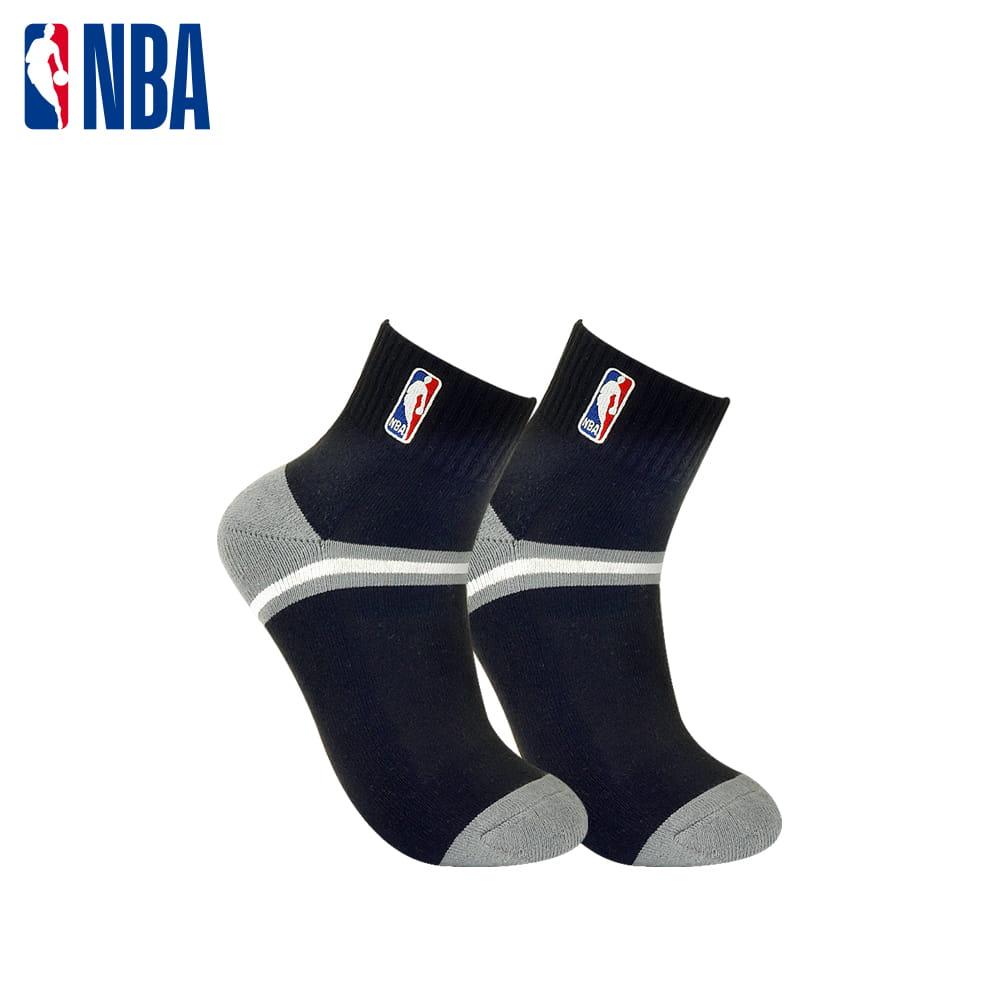 【NBA】 經典刺繡束腳底網眼毛圈短襪 7