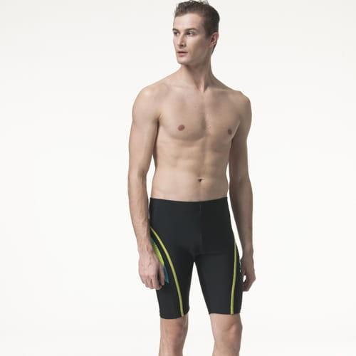 【SARBIS沙兒斯】泡湯 SPA七分泳褲附泳帽B55818 1