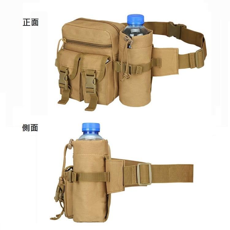 多功能休閒戶外戰術水壺腰包 手機掛包 【AE16162】 6