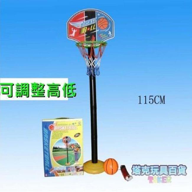兒童籃球架 三段式(110cm) 調整籃球架 戶外球架 1