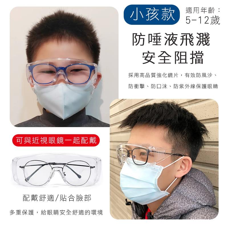 MIT 戶外護目鏡抗UV400 檢驗合格 (可套式) 5