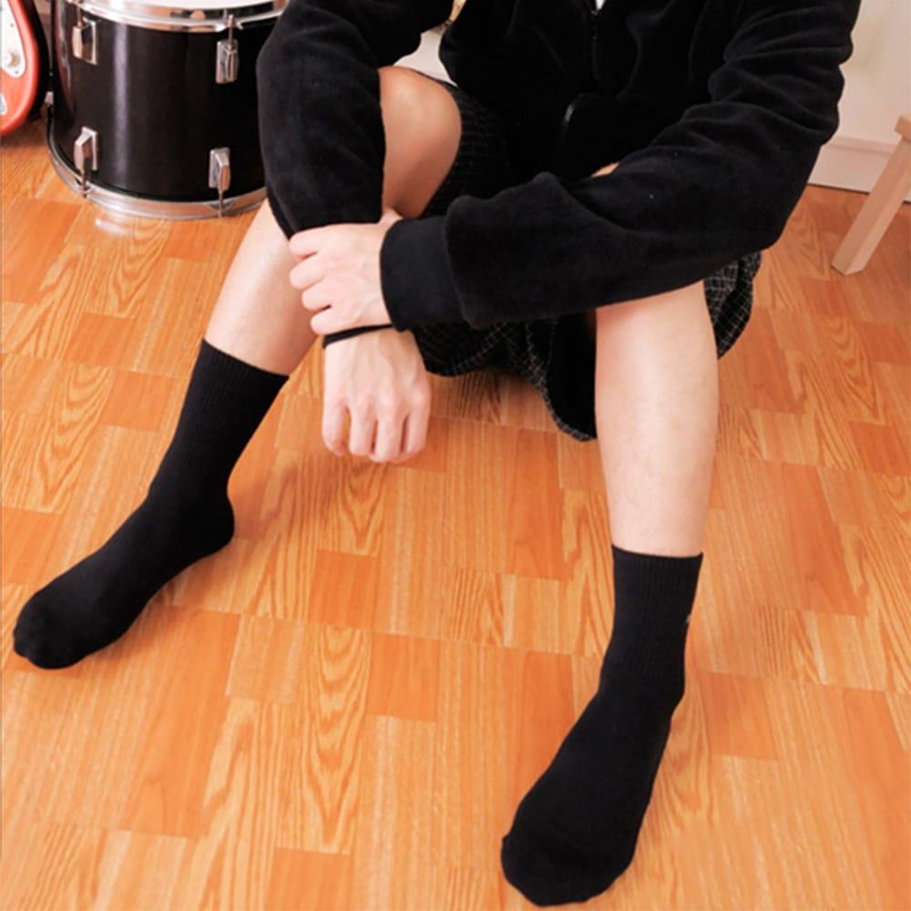 【老船長】(B6)SINA COVA刺繡氣墊加大運動襪 3