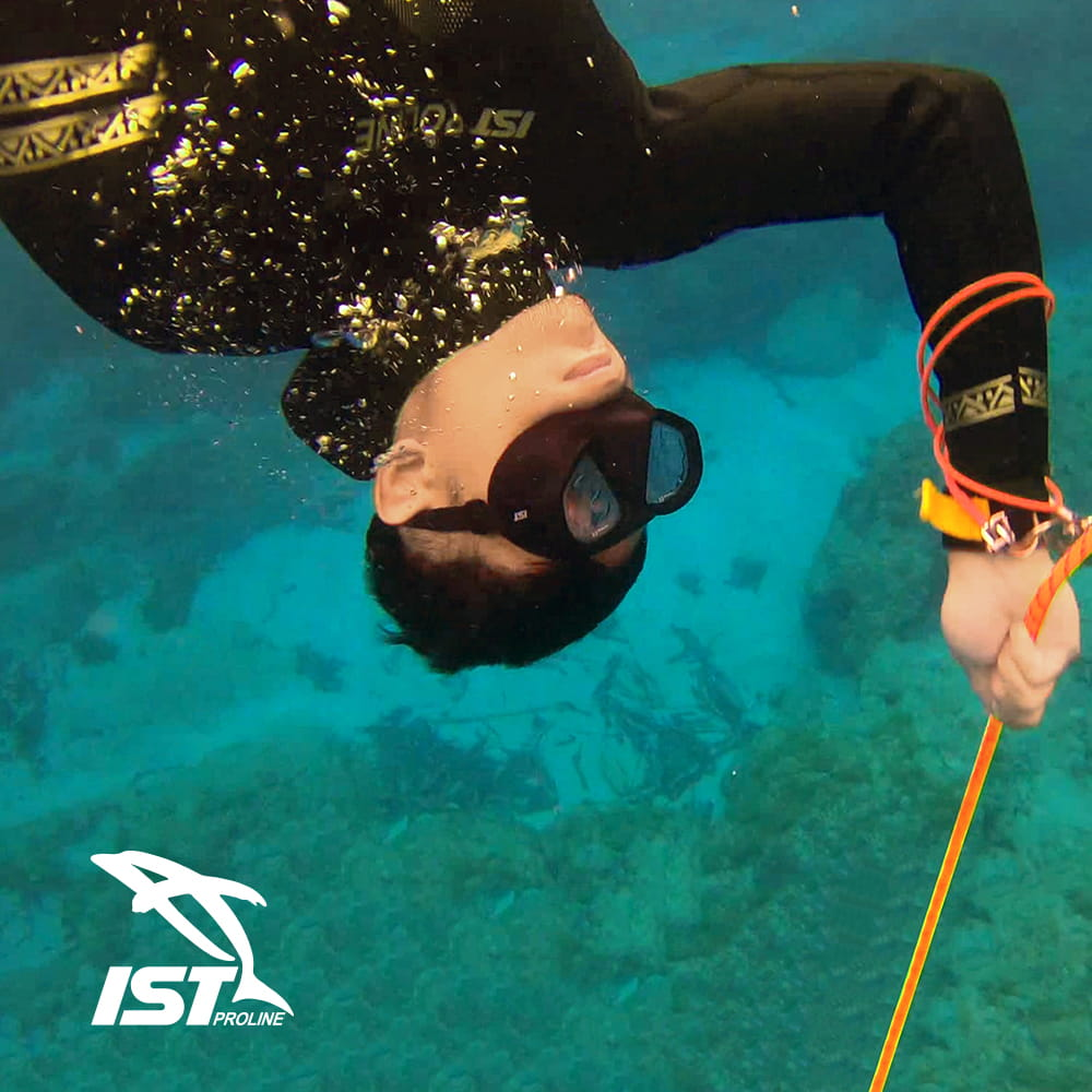【IST】WSH-03 二件式Neoskin自由潛水防寒衣 7