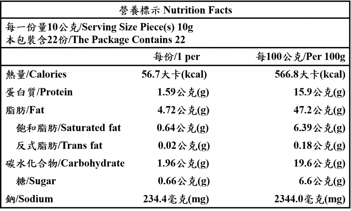 天貝椒麻醬 1
