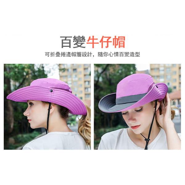 超透氣網狀防曬遮陽帽(男女適穿) 7