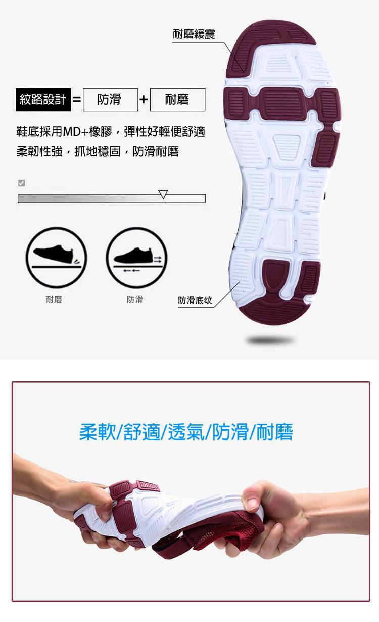 【JAR嚴選】超軟底透氣舒適彈力健走鞋(超軟底 彈力 舒適) 6