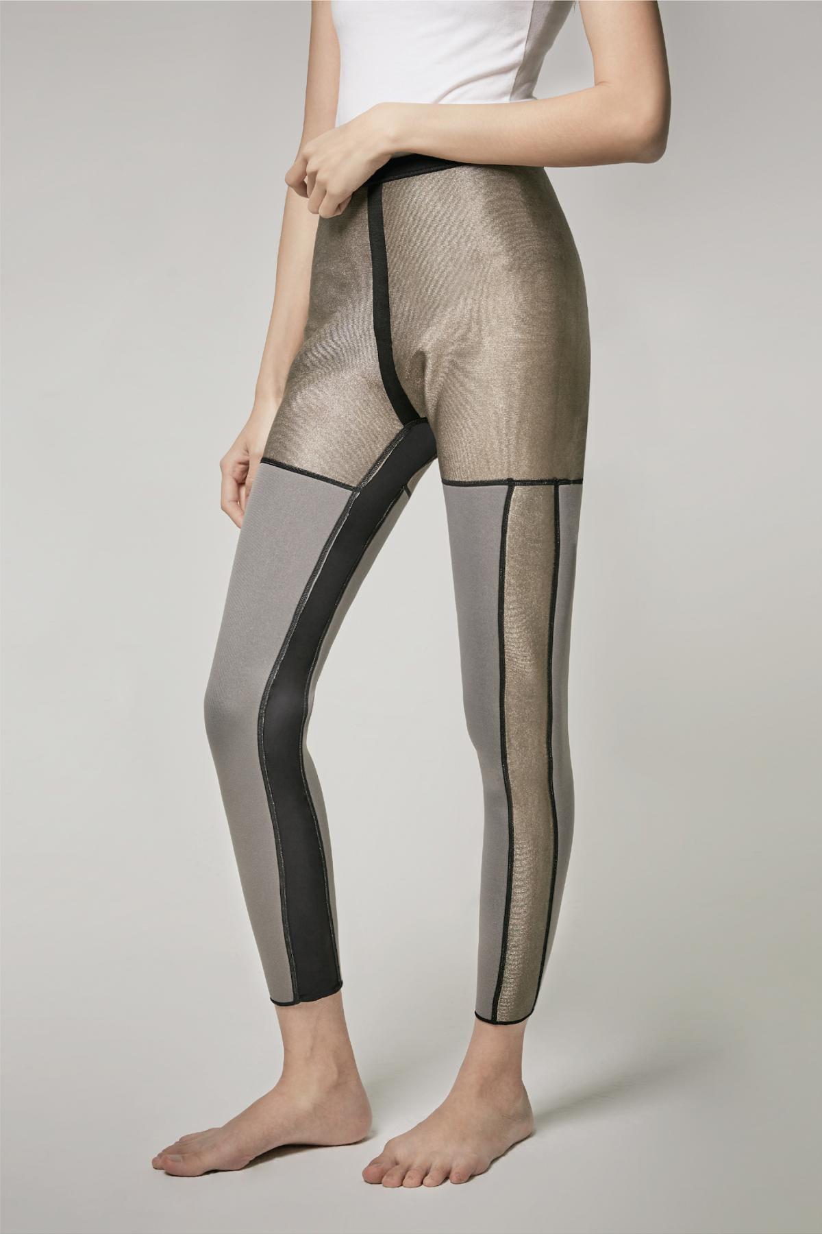 【微笑生活】Soft Snug 銀纖維爆汗九分褲(單口袋) 銀離子 4