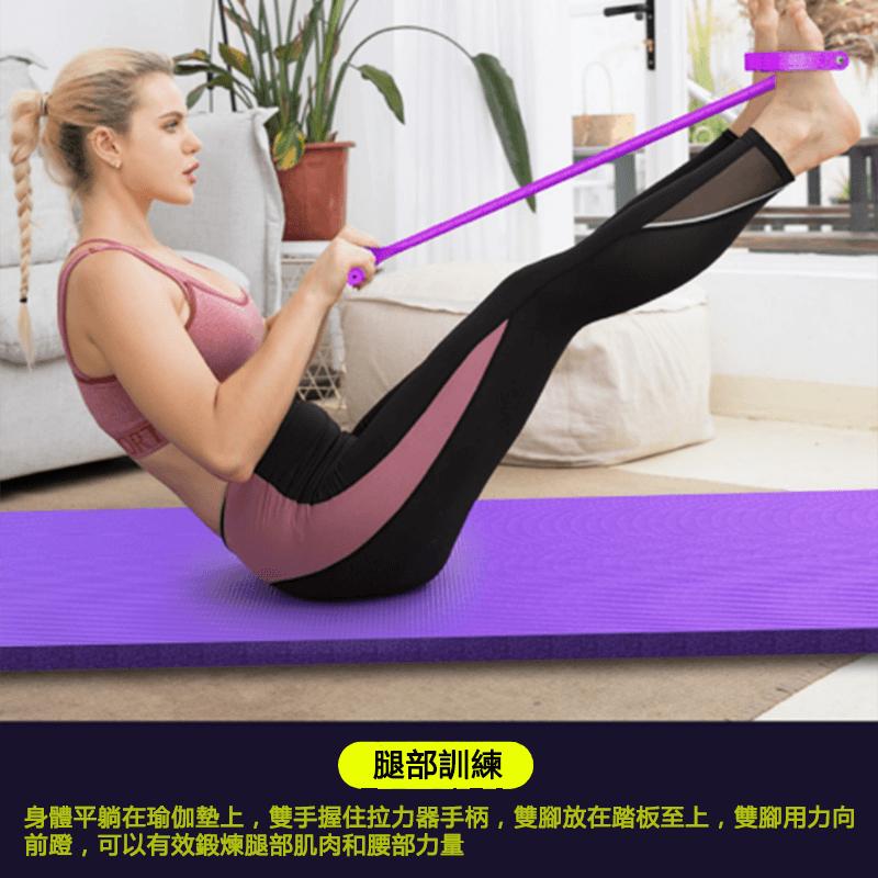 仰臥起坐腳蹬拉力健身器材 3