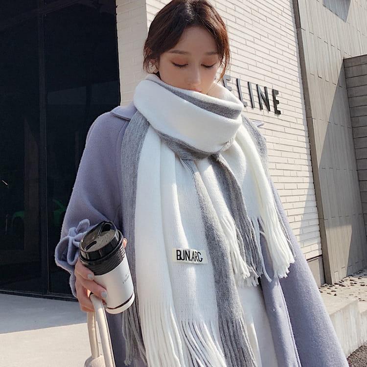 【JAR嚴選】時尚秋冬必備韓版情侶款保暖圍巾 10