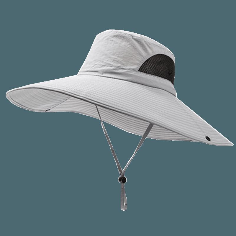 戶外防曬工地釣魚遮陽帽 15