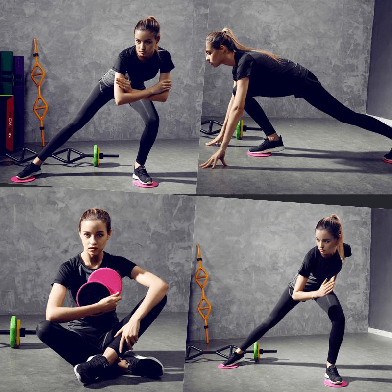 附收納袋 運動滑盤 滑板墊 居家健身 瑜珈 核心 有氧 肌耐力 6