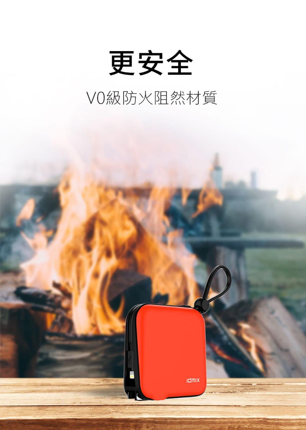 idmix  10000 MFI 旅充式行動電源(CH05)-Lightning版 7