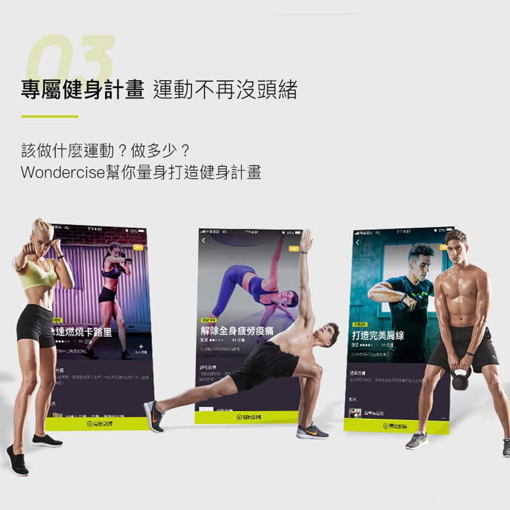 【Wonder Core】Wondercise光感應體力檢測錶+空中健身學院會員卡一年 13