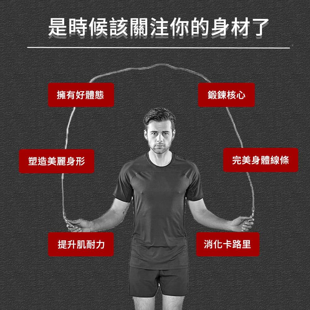 【NORDITION】計數負重跳繩 ◆ 現貨 跳繩 智能跳繩 無繩 重訓 健身訓練減重 燃脂 瘦身 有氧運動 1