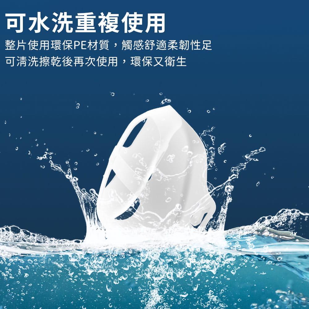 升級可水洗透氣口罩支架 7