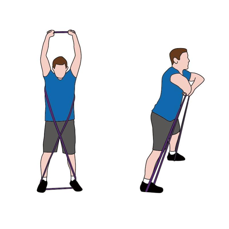 成功牌乳膠訓練拉力帶(進階用) 4