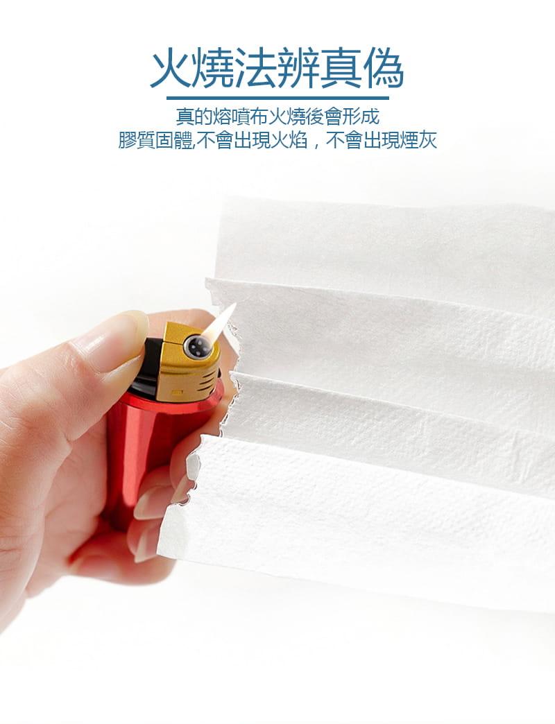 (現貨)加厚熔噴布三層防護口罩 50入/包 7