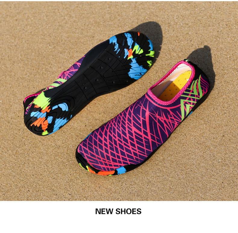 【JAR嚴選】情侶時尚涉水溯溪沙灘多功能水陸兩用鞋 15