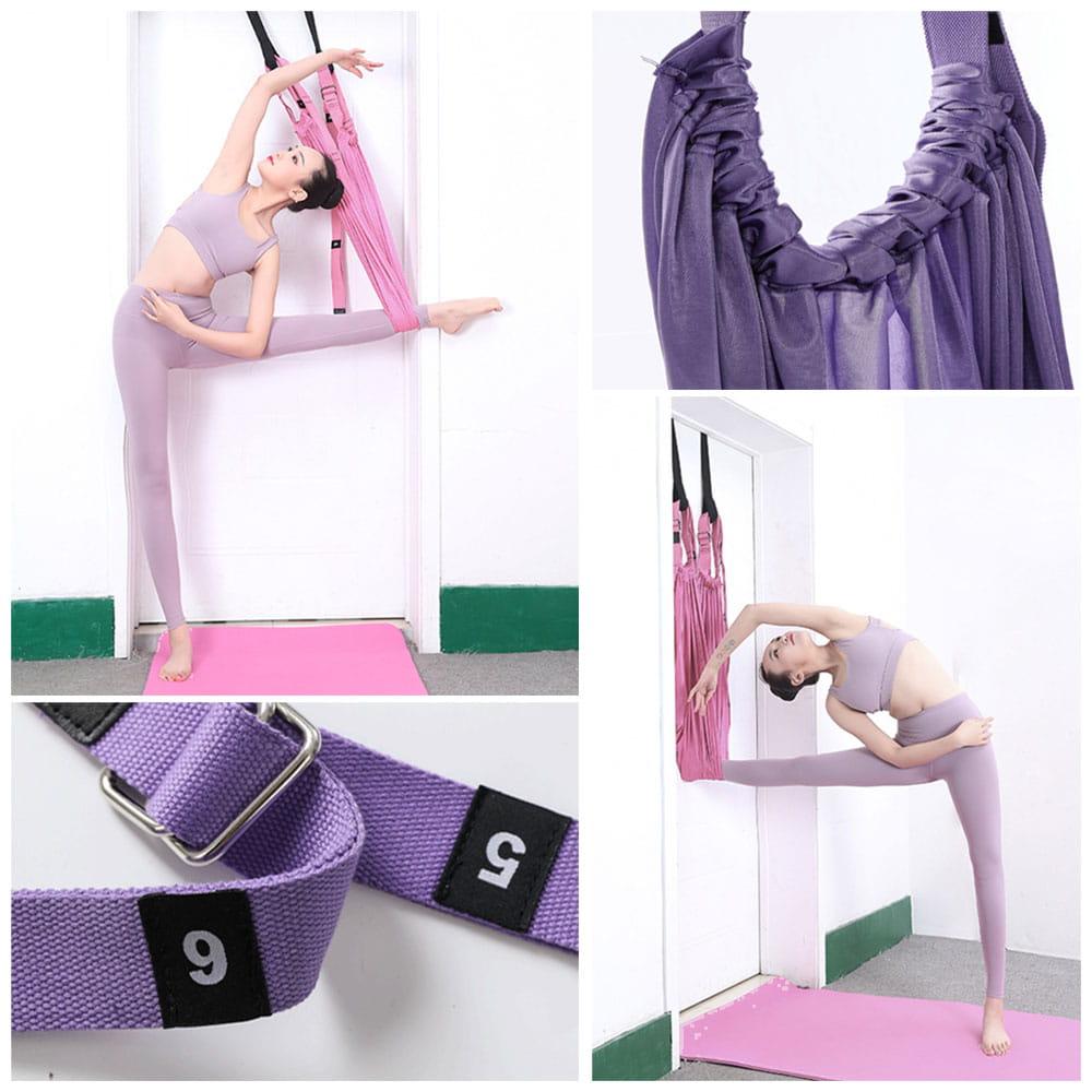 升級版空中瑜伽繩倒立伸展帶 8
