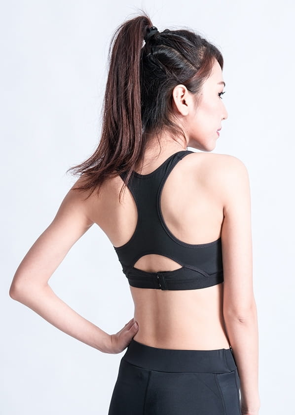 【WISENFIT】台灣製 背扣式運動內衣 9